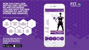 Conquer your F.I.T. Program with the New Forever F.I.T. App!
